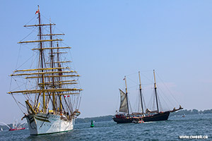 Two tall ship are in Toronto