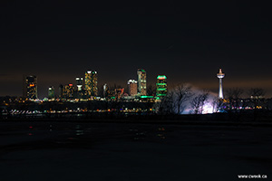 Niagara in the Falls - Winter Night