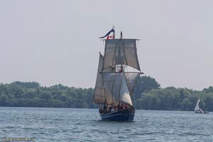 Tall ship on Ontario Lake