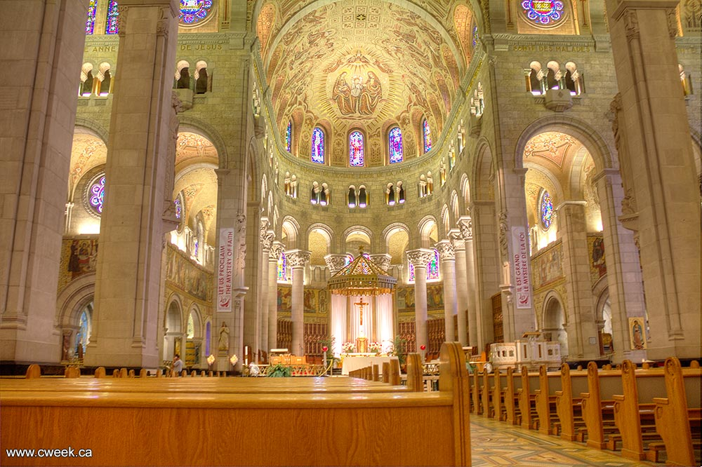 Basilica Of Sainte Anne De Beaupre Canada Week