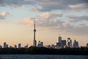 CN Tower - Toronto Island View