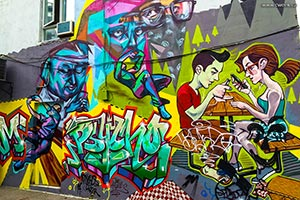 Graffiti Alley - Toronto