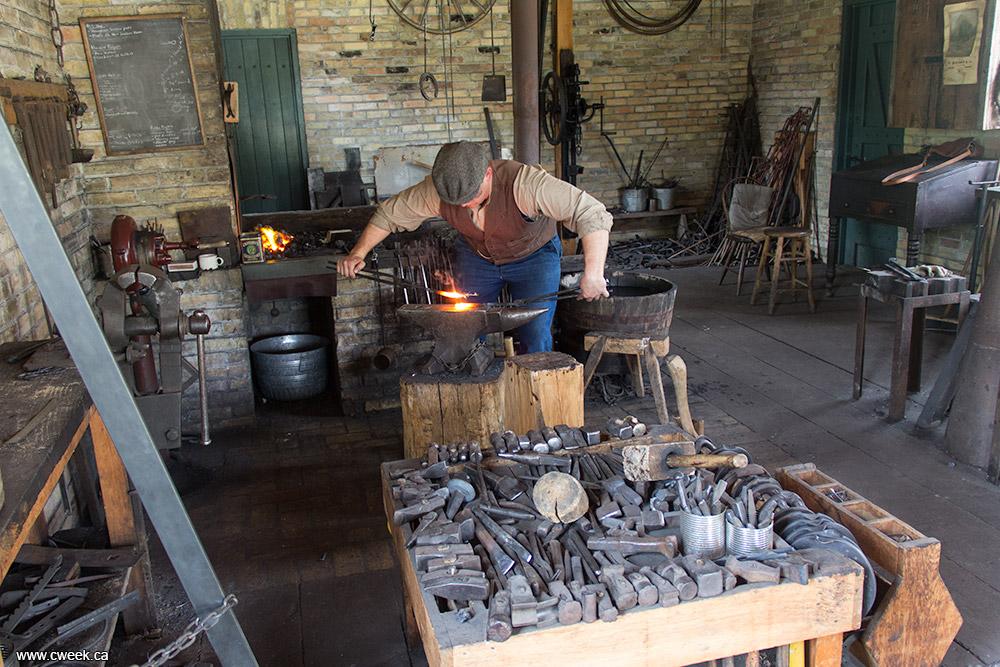 Blacksmith Shop Canada Week